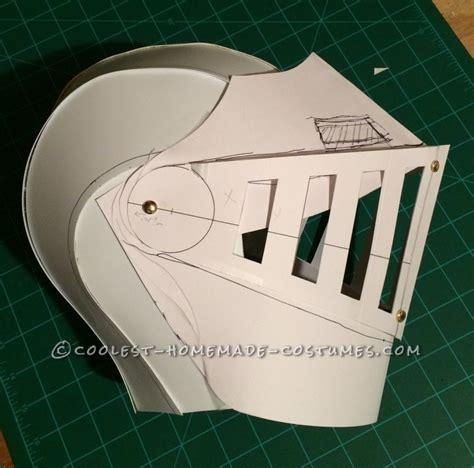 image gallery knight helmet template