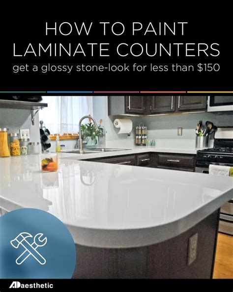 diy glossy painted counters  ojays   paint