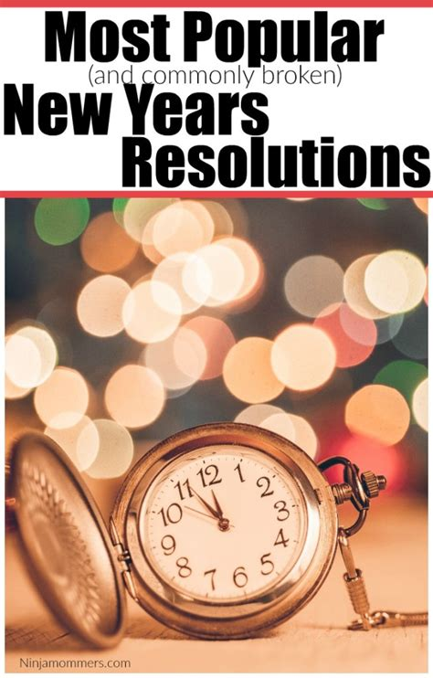 chart the most common new year s resolutions for 2018 most common new years resolutions 28 images 8 things