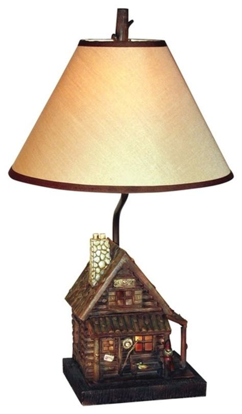 Country Cottage Lighting by Country Cottage Log Cabin Light Table L
