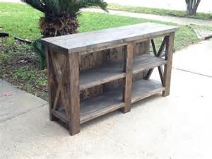 Rustic Tv Console Table 25 Best Rustic Tv Stands Ideas On