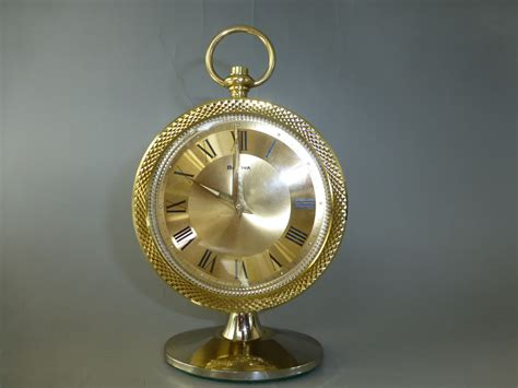 vintage mechnical alarm clock key wind quot bulova quot made in japan the alarm