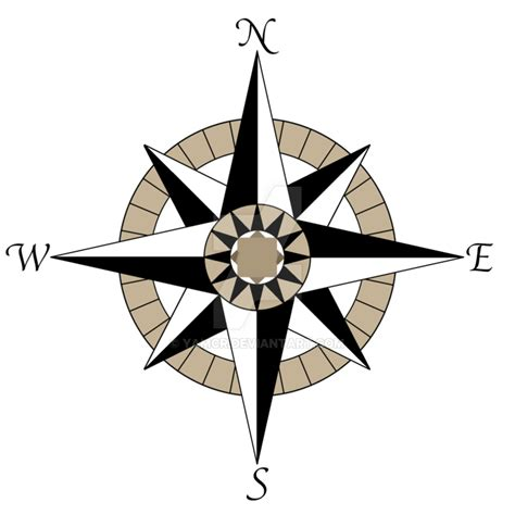 tribal compass tattoo designs compass design by yamcr on deviantart