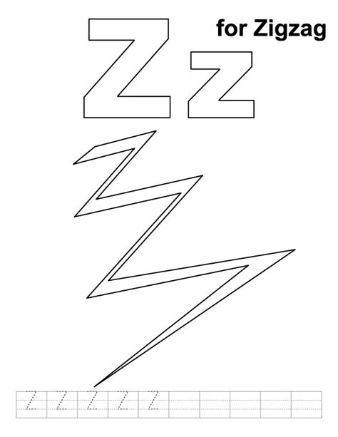 Coloring Pages For Zigzag | zig zag free coloring pages