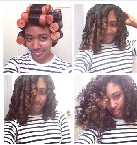 use large rollers when give a permanet wave on long hair perm rods natural hair which size will create your