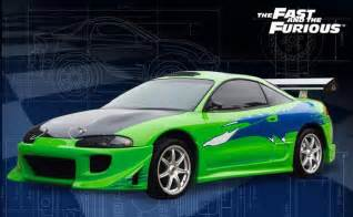 Mitsubishi Eclipse Fast And Furious Specs Fast And The Furious