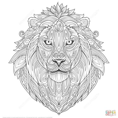 lion coloring page for adults get this lion coloring pages for adults to print 85864