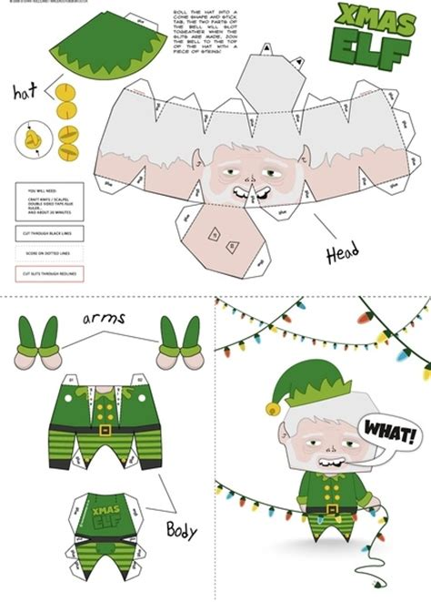 Free Papercraft Patterns - free paper craft patterns 171 free patterns
