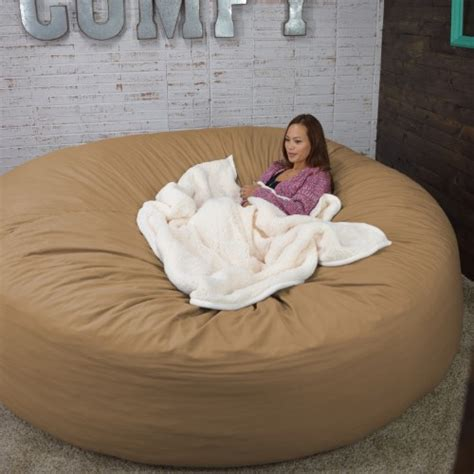 oversized bean bag bed bean bag bed 8 foot xtreem oversized bean bag chair in
