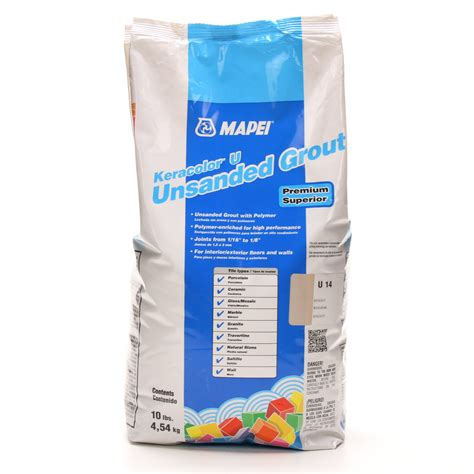 shop mapei 10 lbs biscuit unsanded powder grout at lowes com