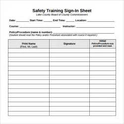 doc 585669 sample training sign in sheet sample