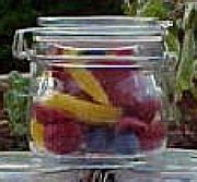 swing top bale jars wholesale 5 oz 150ml clear glass candle jars with lock lid hermetic