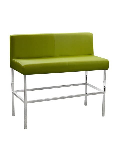 bar bench seat cube 1607 2 seat bar stool with back cape furniture