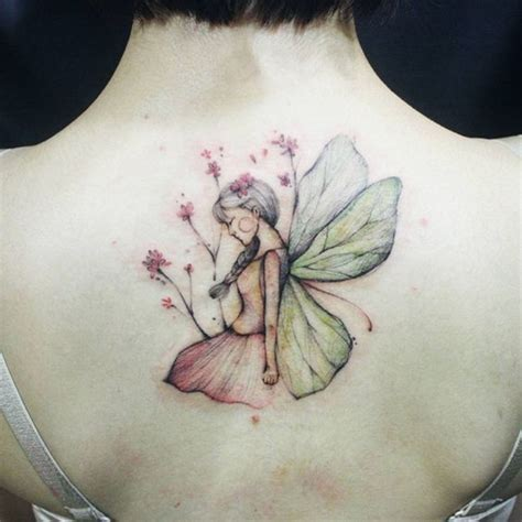 watercolor fairy tattoo designs most enchanting inspirations you can own