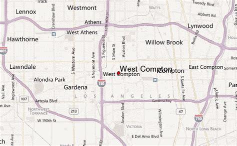 california map compton west compton location guide