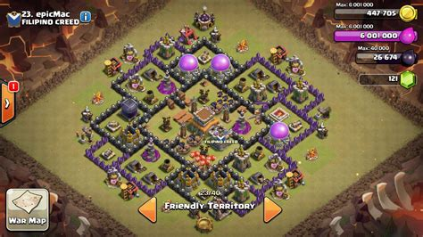 coc layout anti gowipe th8 th8 war base 4 mortars anti gowipe www pixshark com