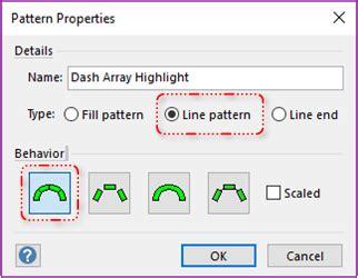 line pattern in visio stroke dasharray shape for visio custom line patterns