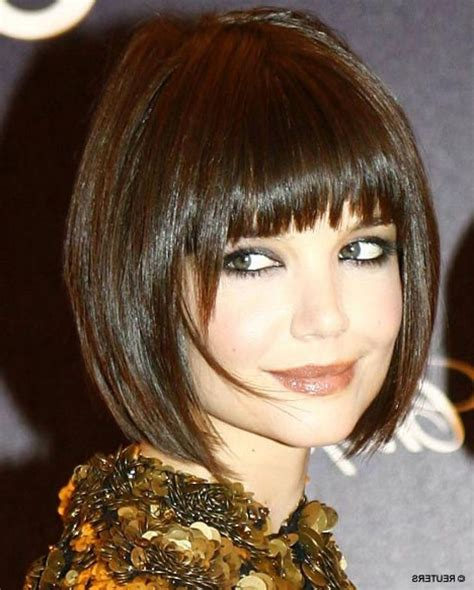 pictures of short hair with angled bangs wavy angled bob haircuts short angled bob haircut with