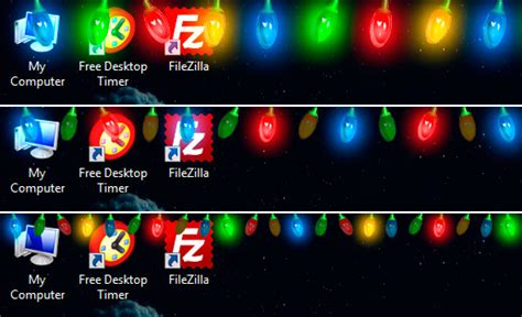 download free christmas garland lights by drive software