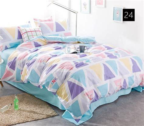 Cross Bedding Set Quality Cotton Duvet Covers Set Simple Cross Bedding Set Single Duvet Covers