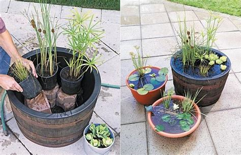 diy garden containers diy containers garden pond