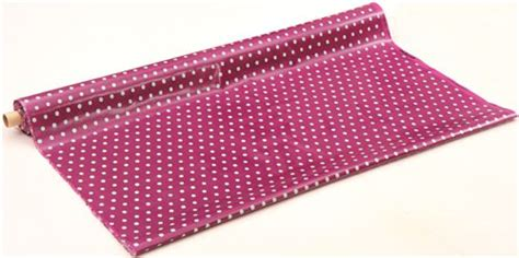 Canvas Laminating Polka Sedang purple echino laminate canvas fabric with turquoise polka dots laminates fabric kawaii