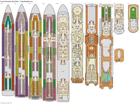 carnival cruise ship floor plans sensation cruise ship deck plan fitbudha com