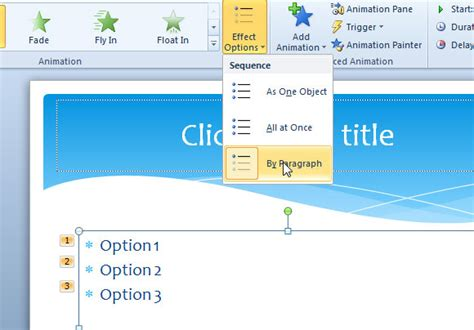 download powerpoint animation transition gettthink how to animate bulleted lists line by line with sub options