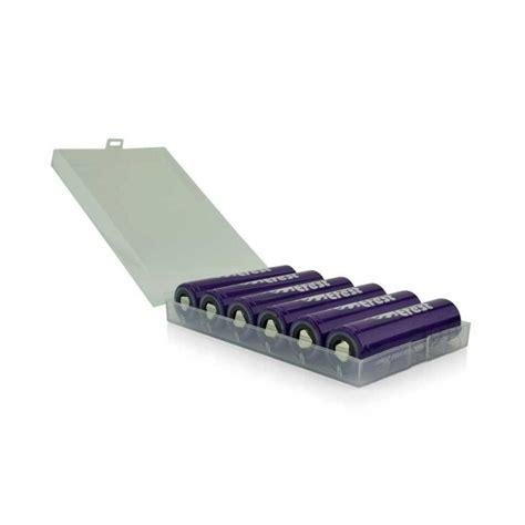 Efest Transparent Battery For 6pc 18650 Casing Baterai Transpar h6 18650 battery by efest