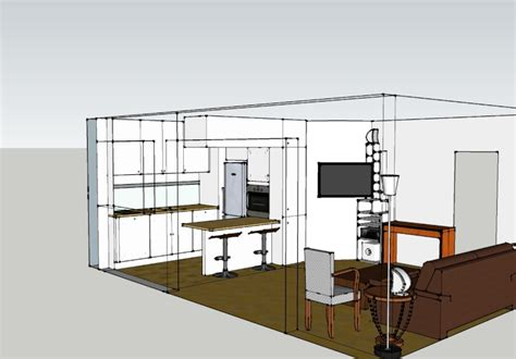 am駭ager un salon cuisine de 30m2 cuisine ouverte sur salon plus de salon sans perdre en