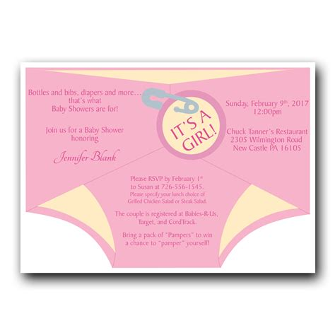 Shower Invitations by Shower Invitation Pink Dot And Bow