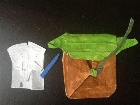 Cover Origami Yoda - my cover yoda plus foldy wan origami yoda