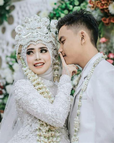 hijab pengantin syari  inspirasi pernikahan