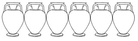 wedding at cana coloring page marriage at cana coloring pages