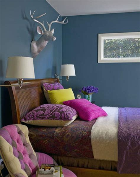 silver and teal bedroom 25 stunning bedroom designs with bold color scheme rilane