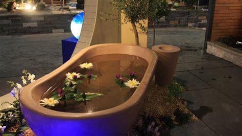 badewanne im garten eine badewanne f 252 r den garten badespass im sommer