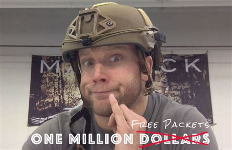 Million Giveaway - one million pack giveaway by strike force soldier systems daily