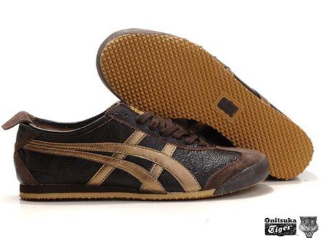 Promo Awal Tahun Asics Mexico 66 Brown Gold s brown gold asics onitsuka tiger mexico 66 sport shoes th9j4l 1134 onitsuka tiger