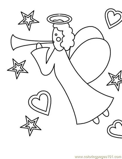 Free Angel Gabriel And Mary Coloring Pages Gabriel Coloring Page