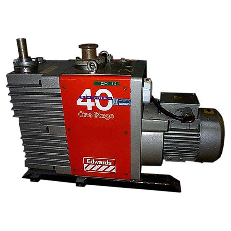 Edwards Vaccum novatech edwards vacuum stock ref 1155 vacuum pumps