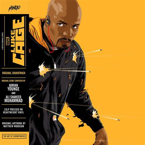 luke cage ost colored vinyl