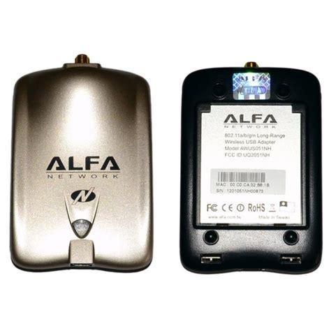 Usb Wifi Alfa Awus036nh alfa network awus051nh carte usb wifi a b g n 500mw