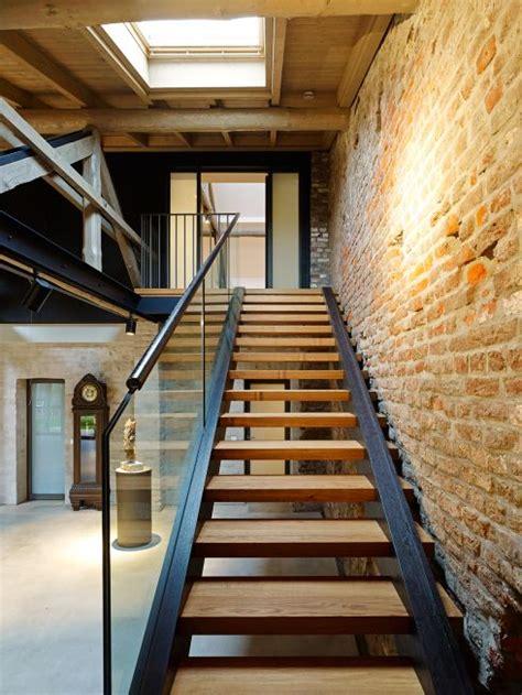 treppe ins b 252 roloft in der scheune umbau und sanierung - Scheune Treppe