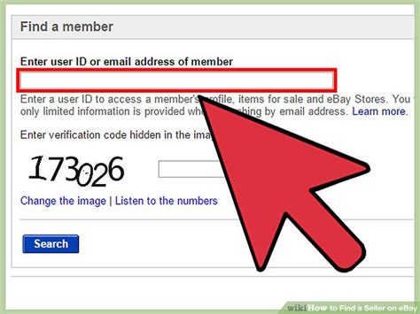 Search Ebay Seller By Email 3 Ways To Find A Seller On Ebay Wikihow