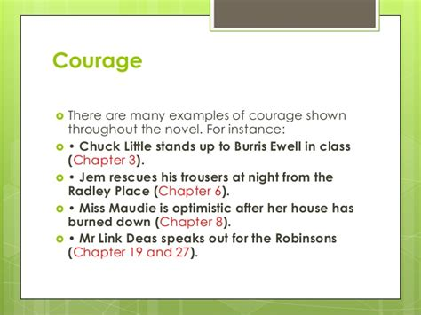 To Kill A Mockingbird Themes On Courage | to kill a mockingbird theme of courage