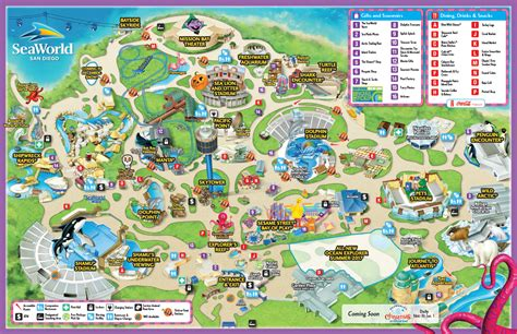 sea world map seaworld map images search