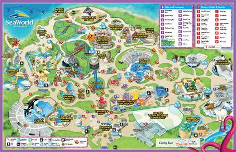map world san diego park map seaworld san diego