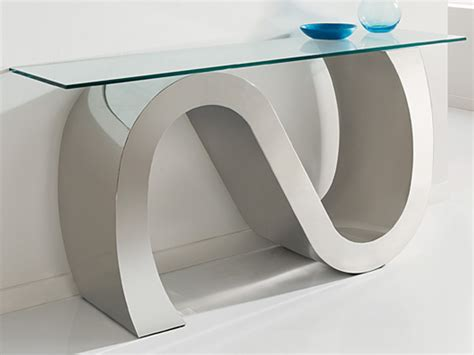 modern glass console table contemporary console tables glass console table
