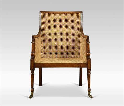 regency oak bergere armchair antiques atlas