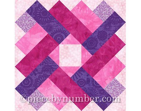 Square Patchwork Patterns - siena square quilt block pattern paper pieced quilt